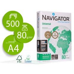 Papel fotocopiadora navigator din a4 80 gramos paquete de 500 hojas