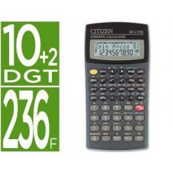 Calculadora citizen cientifica sr-270n 10+2 digitos