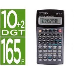 Calculadora citizen cientifica sr-260 10+2 digitos