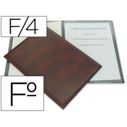 Porta menus folio 86 4 fundas