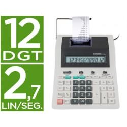 Calculadora citizen impresora pantalla papel cx-123 n 12 digitos