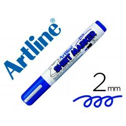 Rotulador artline camiseta ekt-2 azul -punta redonda 2 mm -para uso en camisetas