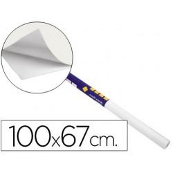 Pizarra blanca clipper rollo de 100x67 cm