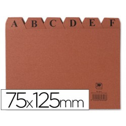 Indice fichero carton -nº 2 -tamaño 75x125