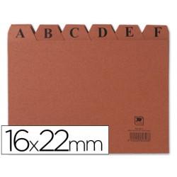 Indice fichero carton -nº 5 -tamaño 16x22