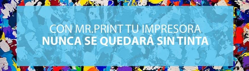 Con MR Print tu impresora nunca se quedará sin tinta